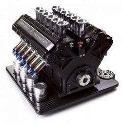Espresso Veloce Nero Carbonio V12