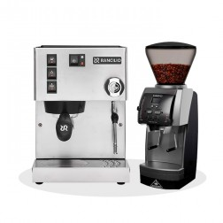 Rancilio Silvia V6 E 2020 Latest Edition + Mahlkönig Vario Home V3