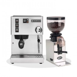 Rancilio Silvia V6 E 2020 Latest Edition + Nemox Lux