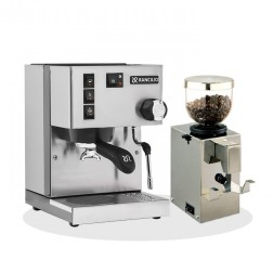 Rancilio Silvia V6 E 2020 Latest Edition + Isomac Macinino Professioneel