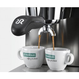 Rancilio Espresso Cups And Saucers - Set Of 6 pieces